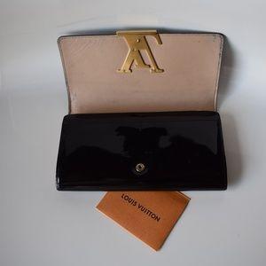 ADD'L LISTING!Louis Vuitton Louise Wallet Vernis